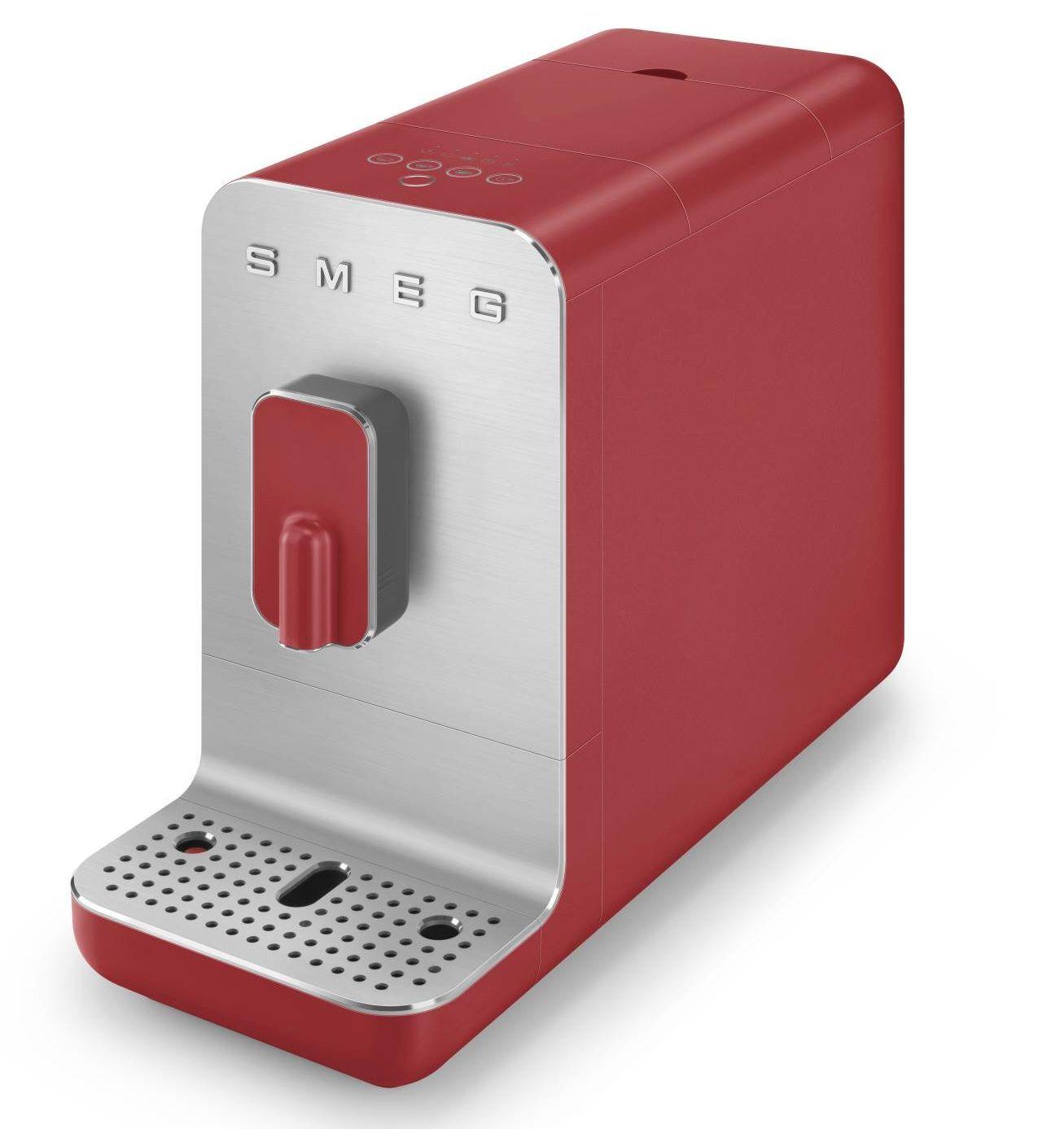 SMEG Machine à Café SMEG Rouge BCC01RDMEU