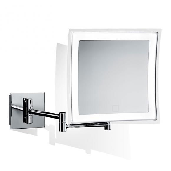 Decor Walther BS 84 TOUCH LED Miroir cosmétique mural avec variateur, grossissement x5, pile, 0121600