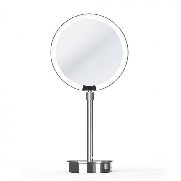 Decor Walther JUST LOOK SR Miroir cosmétique sur pied, à LED, avec batterie, 0121900