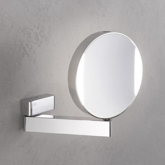 Emco Universal Miroir cosmétique à LED, rond, modèle mural, raccordement sur secteur, 109506017