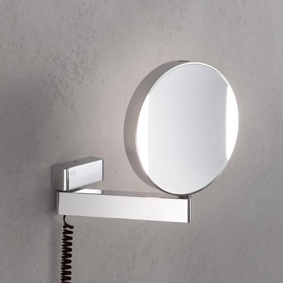 Emco Universal Miroir cosmétique LED, avec câble en spirale et prise, 109506018