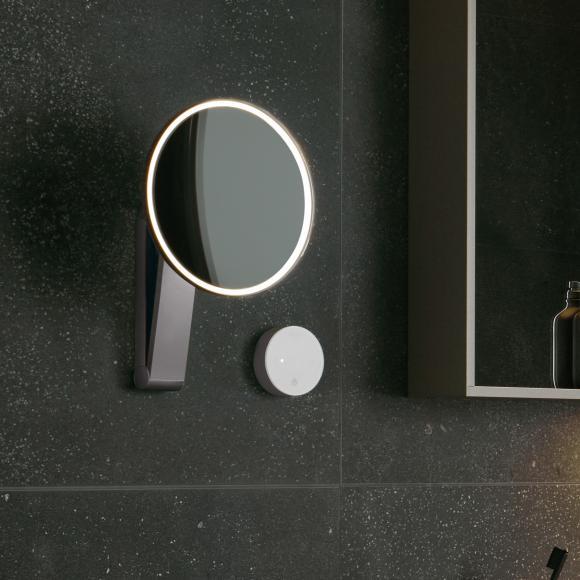 Keuco iLook_move Miroir cosmétique, câblage encastré, luminosité réglable, 17612019002