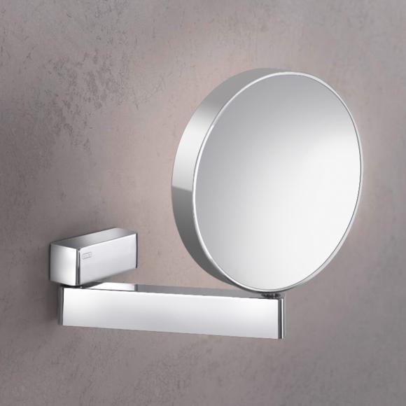 Emco Universal Miroir cosmétique, rond, modèle mural, 109500117