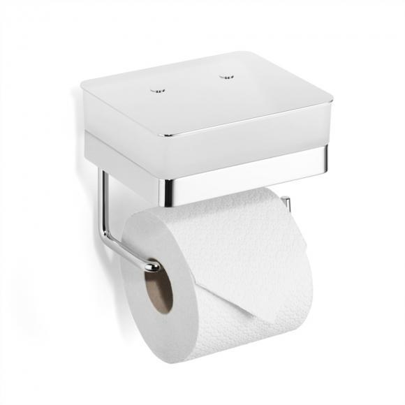 Giese Gifix 21 WC-Duo Valet WC pour lingettes avec porte-rouleau, 21770-02
