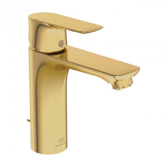 Ideal Standard Air Mitigeur de lavabo monocommande GRANDE, pour chauffe-eau basse pression, avec garniture de vidage, A7054A2
