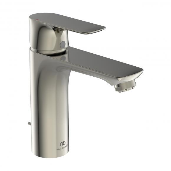 Ideal Standard Air Mitigeur de lavabo monocommande GRANDE, pour chauffe-eau basse pression, avec garniture de vidage, A7054GN