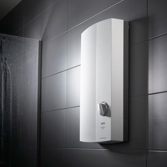 AEG DDLE Basis Chauffe-eau instantané, régulation électronique, 30 à 60°C, 229297