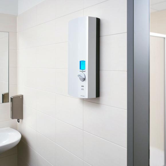AEG DDLE Eco ThermoDrive Chauffe-eau instantané, entièrement contrôlé électroniquement, 30 à 60°C, 222398