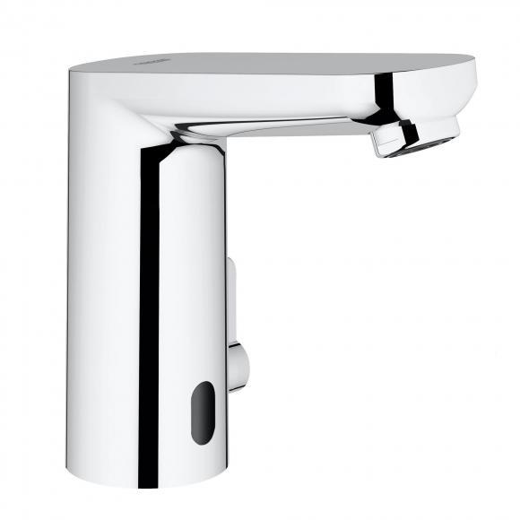 Grohe Eurosmart CE Robinetterie de lavabo avec capteur infrarouge, avec limiteur de température, pour chauffe-eau à écoulement libre, 36324001
