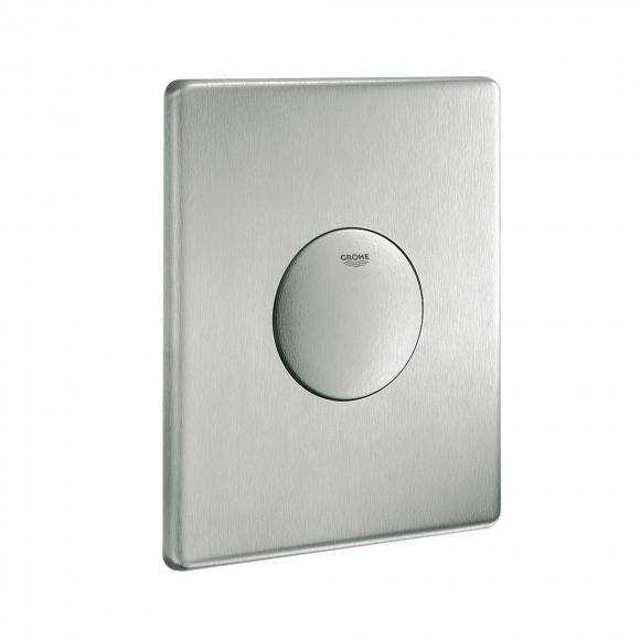 Grohe Skate plaque de commande manuelle en acier inox, montage vertical, 4005176282850