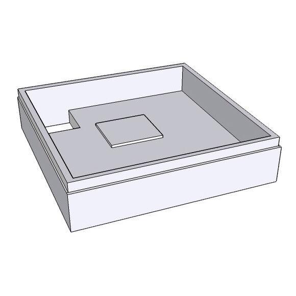 Schröder Support de receveur de douche pour le modèle Lyon E, SD 94118