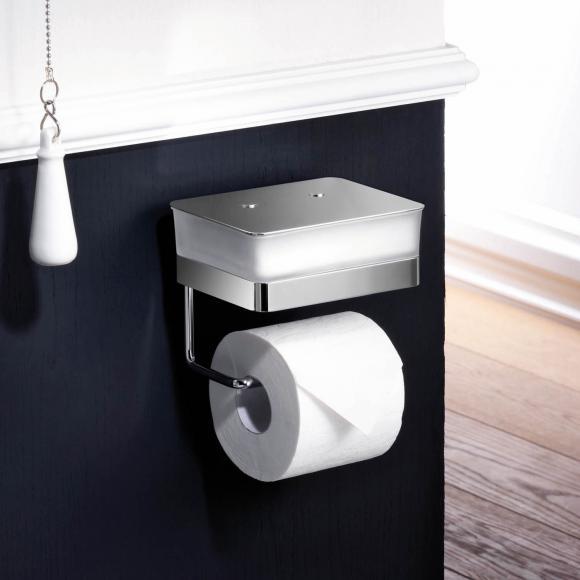 Giese Valet WC pour lingettes avec porte-papier toilette, 31770-02