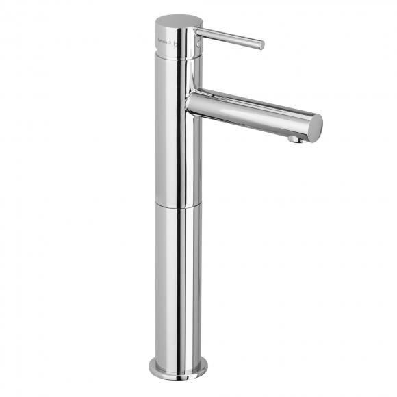 Herzbach Design New Mitigeur monocommande de lavabo avec colonne surélevée, pour chauffe-eau à écoulement libre, 10.145320.4.01