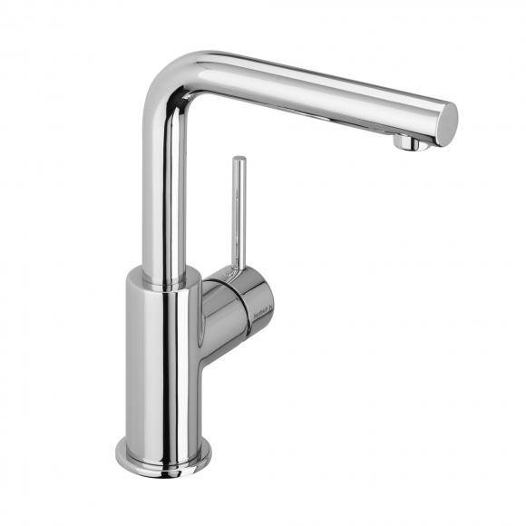 Herzbach Design New Mitigeur monocommande de lavabo pour chauffe-eau à écoulement libre, 10.145333.2.01