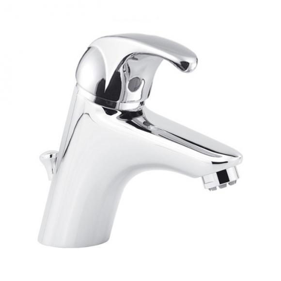 Herzbach Largo Mitigeur monocommande de lavabo pour chauffe-eau à écoulement libre, 52.143100.2.01