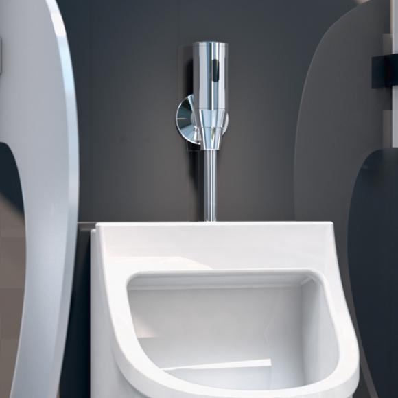 Schell Shell Robinet de chasse d'urinoir à infrarouge SCHELLTRONIC, alimentation par pile, 4021163129243