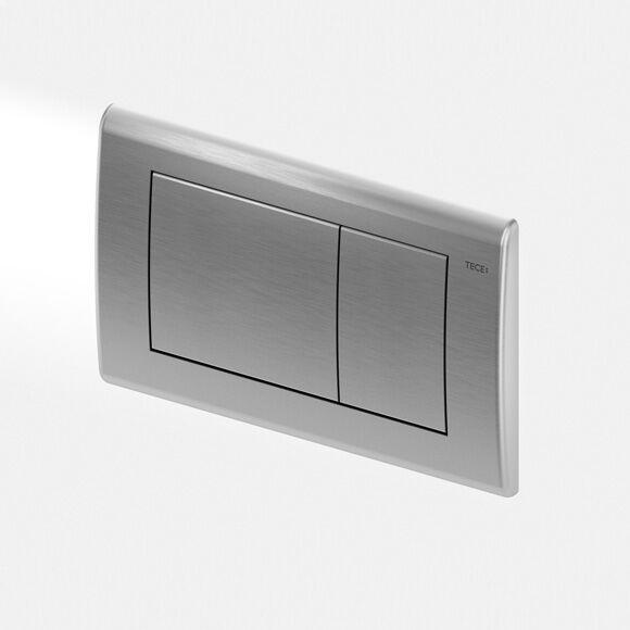 TECE planus Plaque d'actionnement de chasse d'eau de WC pour technique de rinçage à 2 volumes, 4027255005945