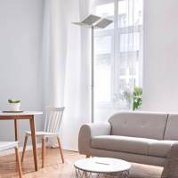 B-LEUCHTEN DOMI Lampadaire LED avec variateur et CCT, 4045542221236 <br /><b>310.91 EUR</b> Reuter.com
