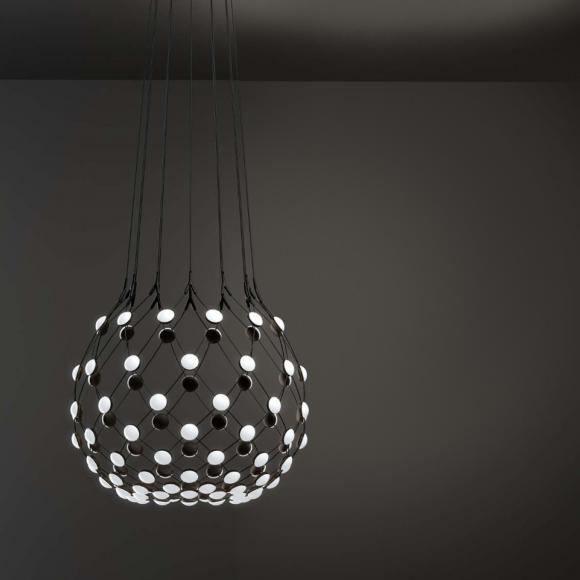 LUCEPLAN Mesh D86 Lustre à LED, 8056304369277