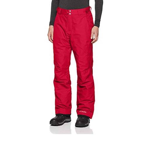 Columbia Pantalon de ski rouge h...