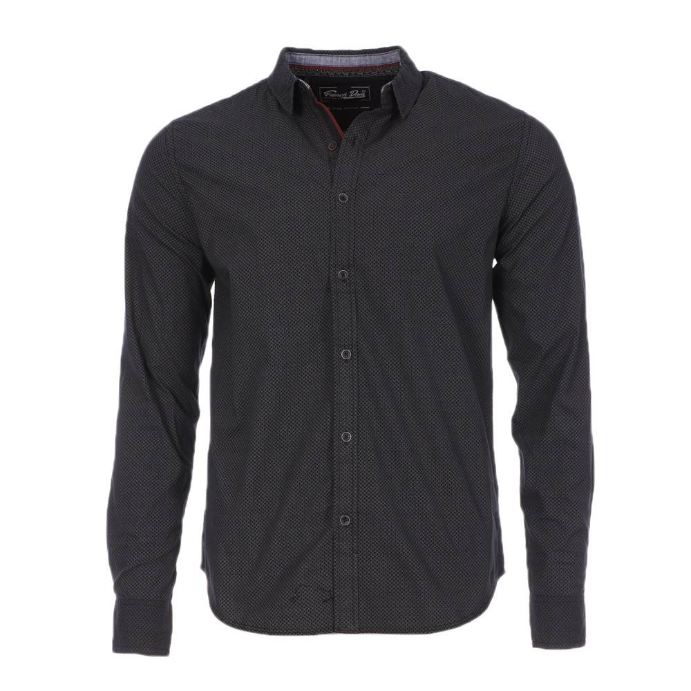 RMS26 Chemise Noire Homme RMS26 All Over  - Bleu