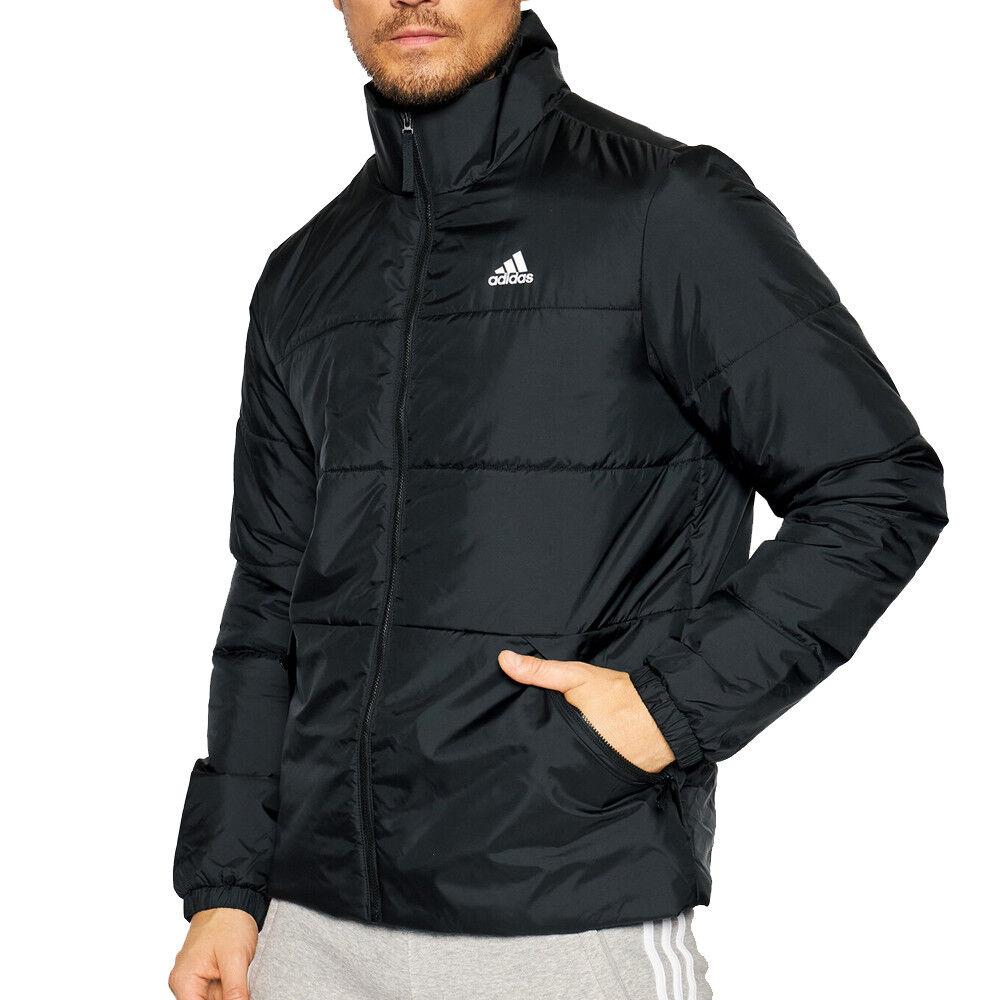 Adidas Doudoune noire homme Adidas BSC 3-Stripes Insulated  - Noir - S