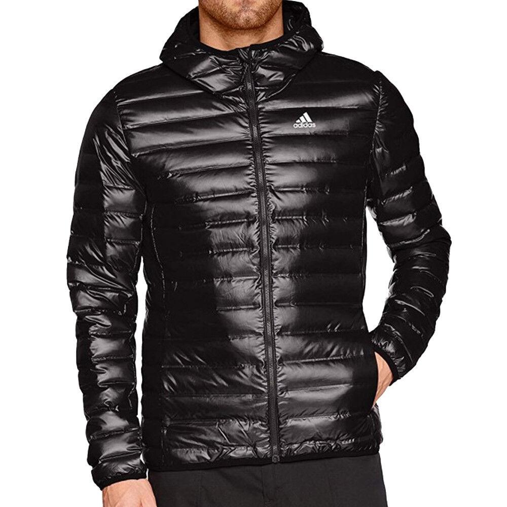 Adidas Doudoune noire homme Adidas Varilite Hooded  - Vert - M