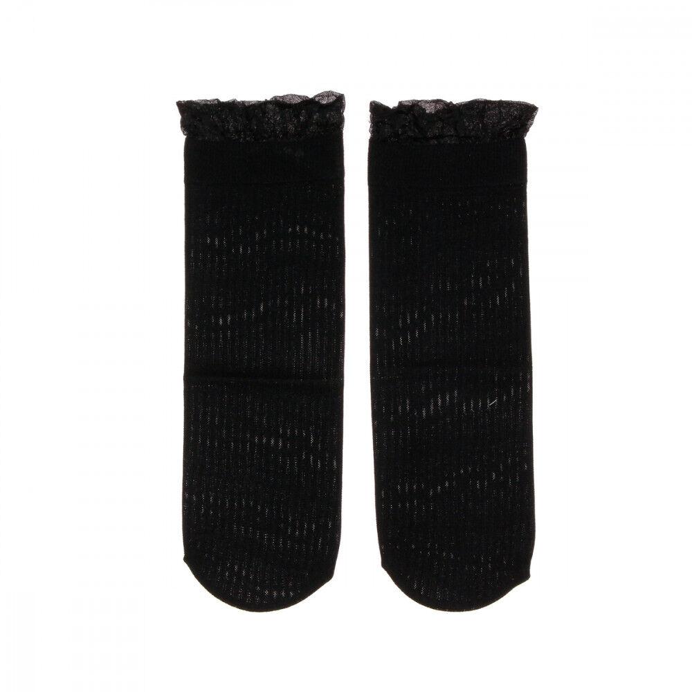 Vero Moda Chaussettes Noir Femme Vero Moda Mira  - Jaune - XL