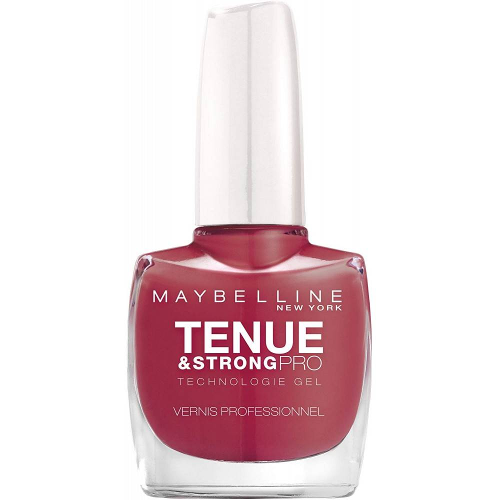 Gemey Maybelline Vernis à ongles Tenue & Strong  Gemey Maybelline 202 vrai rose  - Noir - 43/46