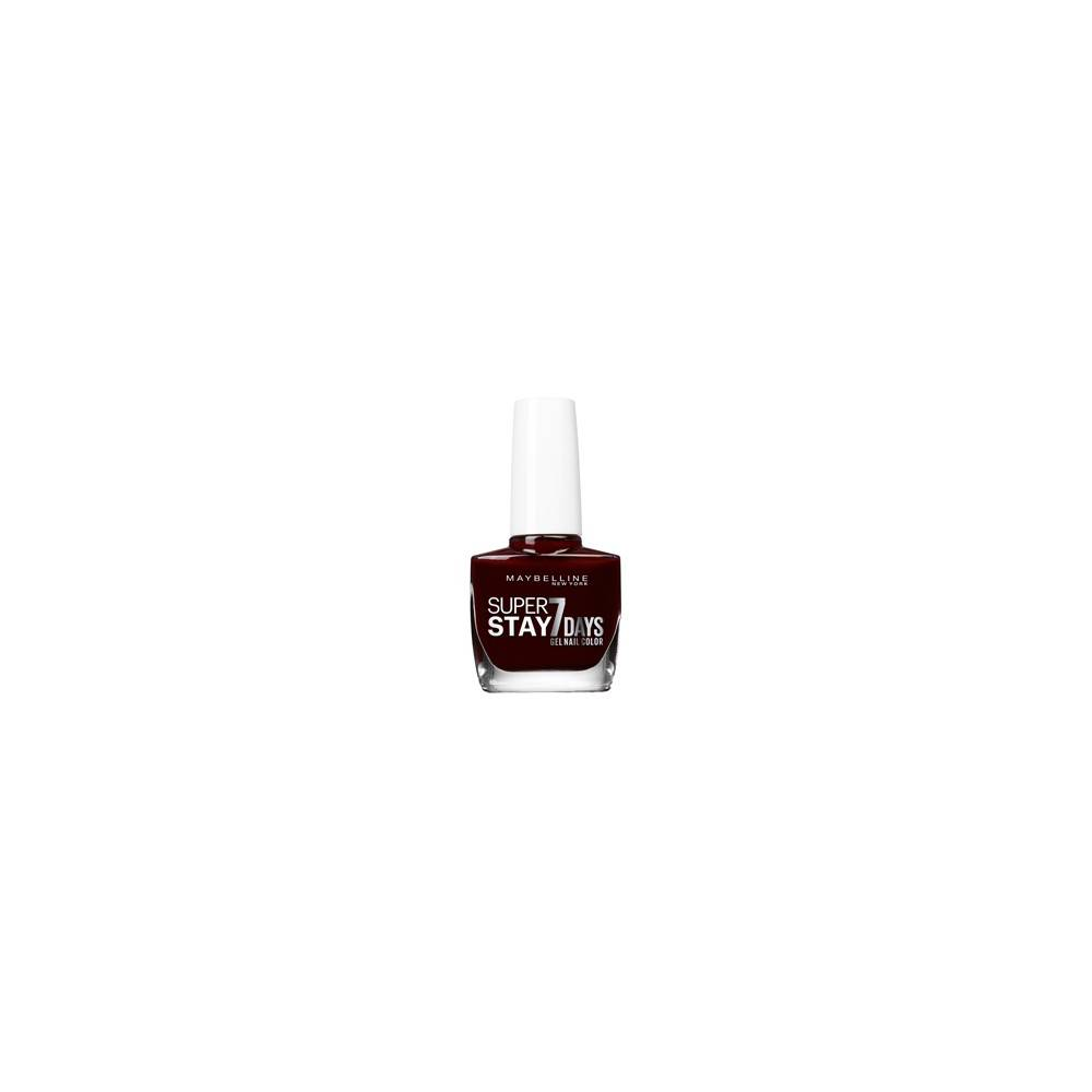 Gemey Maybelline Vernis à ongles Superstay 7 Days Gemey Maybelline 287 rouge couture  - Rose