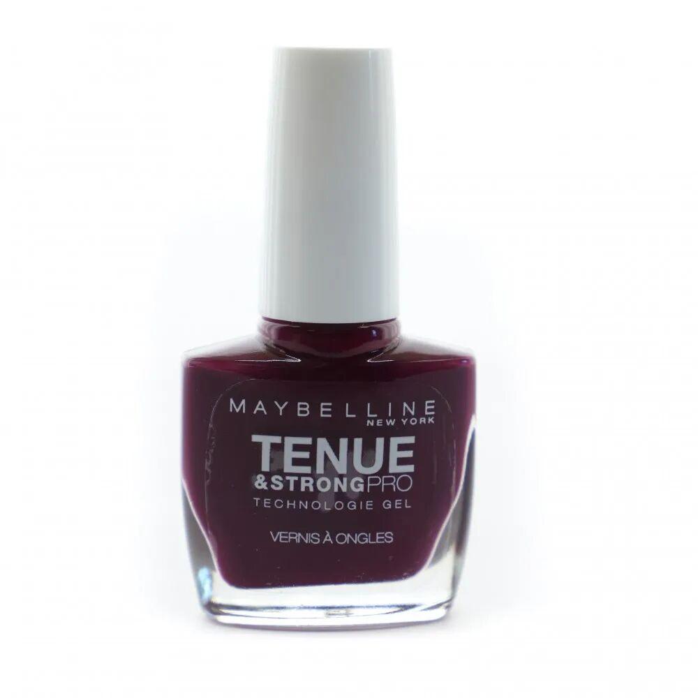 Gemey Maybelline Vernis à Ongles Tenue & Strong PRO Gemey Maybelline Ever Burgundy 270  - Rose