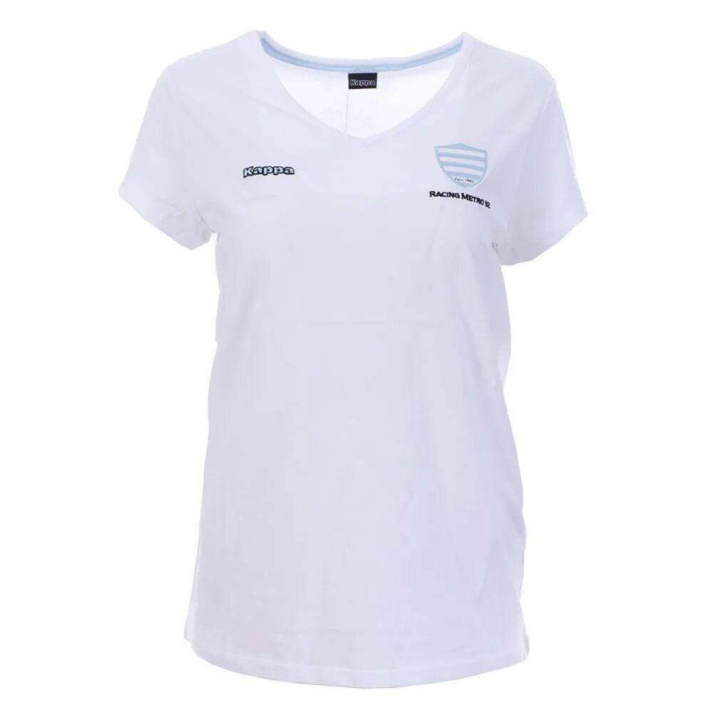 Kappa Racing 92 T-Shirt Rugby Blanc Femme Kappa  - Bleu - 38