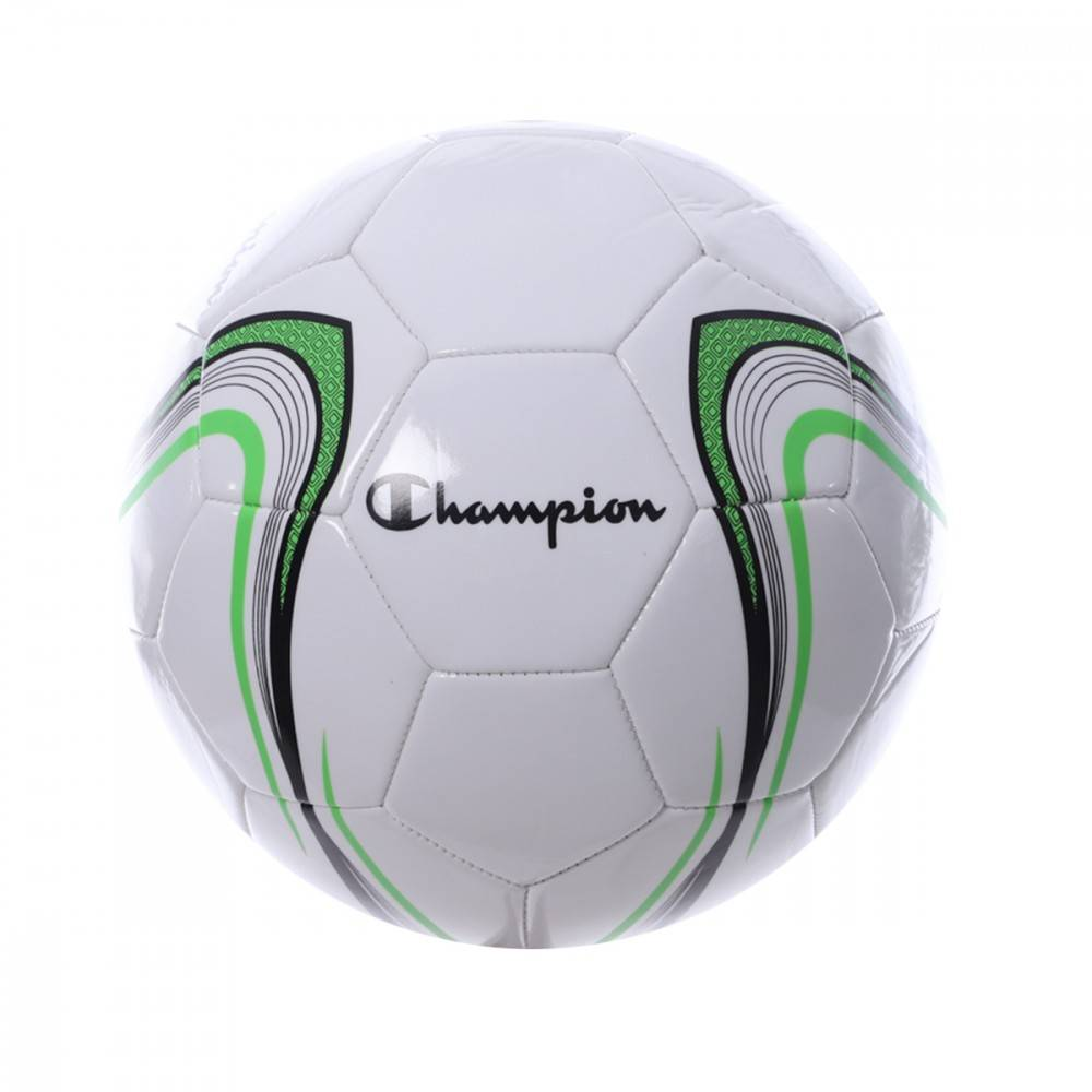 Champion Ballon de foot Blanc Mixte Champion T5  - Noir