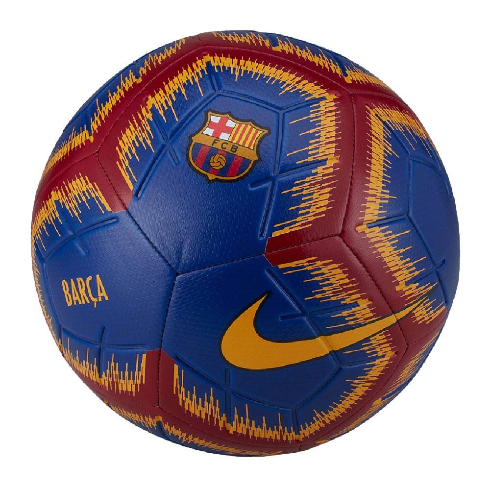 Nike FC Barcelone Ballon de Foot Bleu Nike  - Rose - 02A