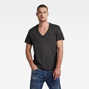 G-Star RAW Lot De 2 T-Shirts Base V-Neck - Noir - Hommes - taille : M - Publicité