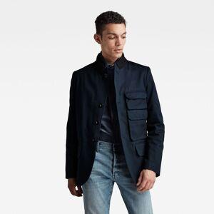 G-Star RAW Blazer Stacked Pocket Constructed - Bleu foncé - Hommes - taille : XXS - Publicité