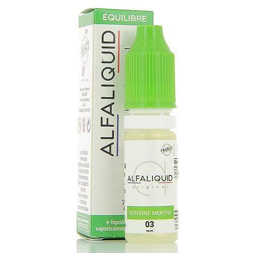Alfaliquid Verveine Menthe Alfaliquid 10ml 06mg