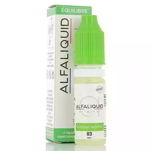 Alfaliquid Verveine Menthe Alfaliquid 10ml 03mg