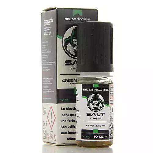 Salt E Vapor Green Storm Salt E Vapor 10ml 20mg
