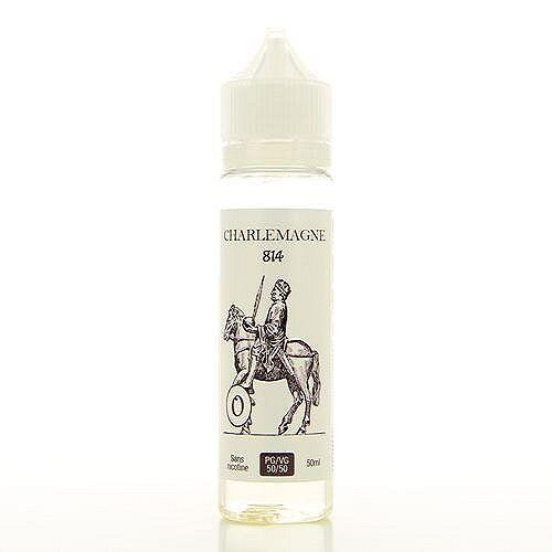 814 Charlemagne  814 50ml 00mg (sans nicotine ni tabac)