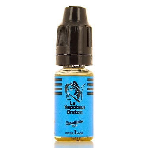 Le Vapoteur Breton Bleu Sensations Le Vapoteur Breton 10ml 03mg