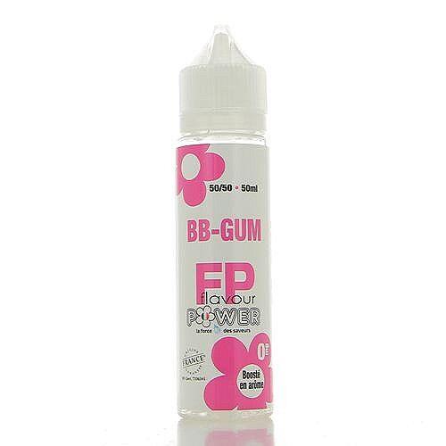 Flavour Power BB-Gum 50/50  Flavour Power 50ml 00mg (sans nicotine ni tabac)
