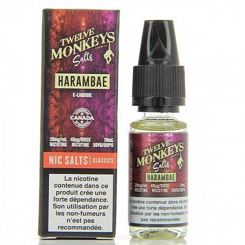 Twelve Monkeys Harambae Salts 12Monkeys 10ml 10mg