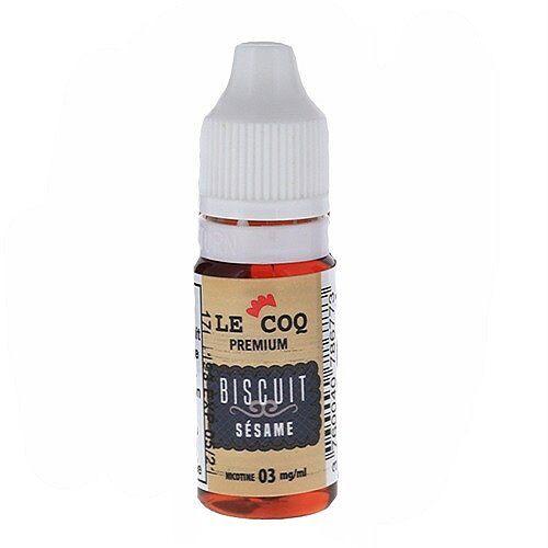 Le Coq Qui Vape Biscuit Sésame Le Coq Qui Vape Premium 10ml 06mg