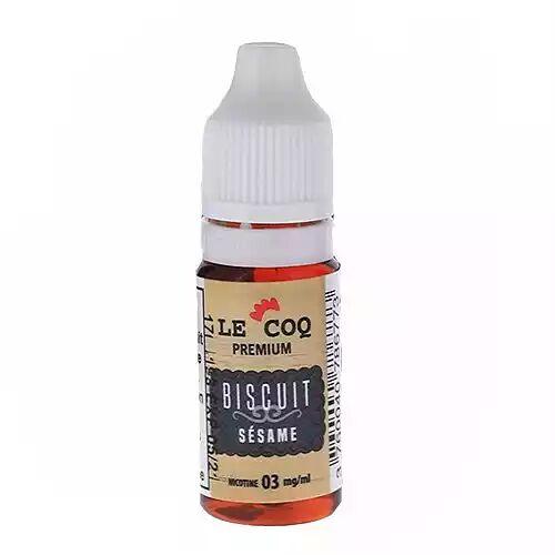 Le Coq Qui Vape Biscuit Sésame Le Coq Qui Vape Premium 10ml 03mg
