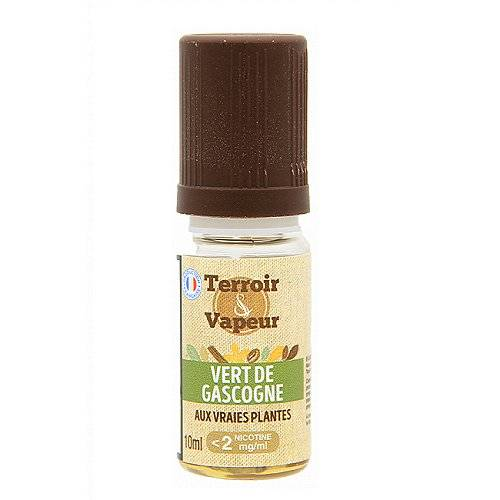 Terroir & Vapeur Vert De Gascogne Terroir et Vapeur 10ml 06mg