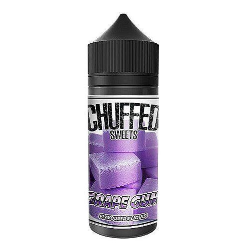 Chuffed Grape Gum Sweets Chuffed 100ml