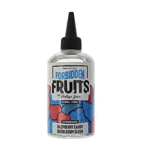 Vintage Juice Raspberry Candy Bubblegum Slush Forbidden Fruits By Vintage Juice 200ml