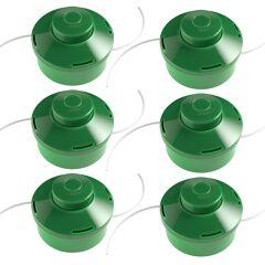 monzana® 6x Tête de coupe bobine 2 fils pour Outil multifonctions Coupe-bordures Jardin