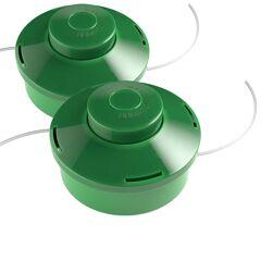 monzana® 2x Tête de coupe bobine 2 fils pour Outil multifonctions Coupe-bordures Jardin